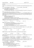 Luyện thi đại học môn Vật lý - Mã đề 175_07