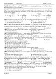 Luyện thi đại học môn Vật lý - Mã đề 175_22