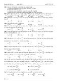 Luyện thi đại học môn Vật lý - Mã đề 175_30