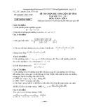 Đề thi HSG cấp tỉnh môn Toán lớp 9 năm 2012-2013 - Sở GD&ĐT Phú Thọ
