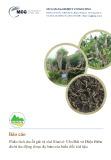 Báo cáo: Phân tích chuỗi giá trị chè Shan ở Yên Bái và Điện Biên dưới tác động được dự báo của biến đổi khí hậu