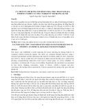 Các nhân tố ảnh hưởng tới hành vi mua thực phẩm tươi qua internet: nghiên cứu thực nghiệm từ thị trường Hà Nội