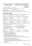 Đề kiểm tra giữa HK 1 môn Hóa học lớp 12 năm học 2017-2018 - THPT Lê Qúy Đôn - Mã đề 132