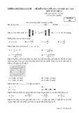 Đề kiểm tra giữa HK 1 môn Toán lớp 12 năm học 2017-2018 - THPT Phan Văn Trị - Mã đề 485