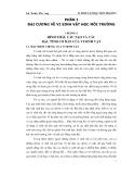 Bài giảng Vi sinh vật học môi trường - Lê Xuân Phong