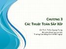 Bài giảng Cấu trúc dữ liệu và giải thuật: Chương 3 - Th.S Thiều Quang Trung