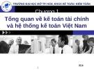 Bài giảng Kế toán tài chính 1: Chương 1 - Hồ Thị Bích Nhơn