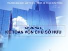 Bài giảng Kế toán tài chính 1: Chương 6 - Hồ Thị Bích Nhơn