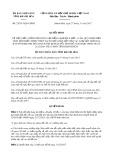 Quyết định số 23/2017/QĐ-UBND Tỉnh Khánh Hòa