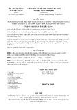 Quyết định số 32/2017/QĐ-UBND Tỉnh Hậu Giang