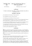 Quyết định số 1865/QĐ-TTg năm 2017