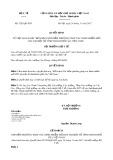 Quyết định số 5292/QD-BYT