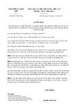 Quyết định số 45/2017/QĐ-TTg