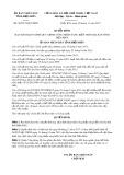 Quyết định số 36/2017/QĐ-UBND Tỉnh Điện Biên