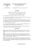 Quyết định số 6159/QĐ-UBND Thành phố HCM