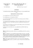 Quyết định số 3059/QD-UBND Tỉnh Sơn La