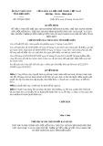 Quyết định số 925/QĐ-UBND năm 2017 Tỉnh Điện Biên