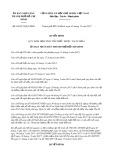 Quyết định số 60/2017/QĐ-UBND Thành phố HCM