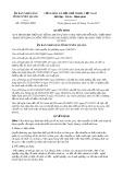 Quyết định số 432/QĐ-UBND năm 2017 Tỉnh Tuyên Quang