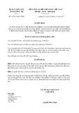 Quyết định số 32/2017/QĐ-UBND Tỉnh Quảng Trị