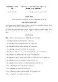 Quyết định số 2514/QĐ-TTg