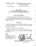 Quyết định số 1234/QD-TTg năm 2013