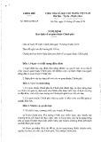 Nghị định số 10/2016/QD-CP
