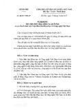 Nghị định số 60/2017/QD-CP