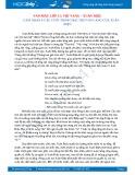 Cảm nhận 9 câu cuối trong bài thơ Vội vàng của Xuân Diệu