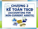 Bài giảng Chương 2: Kế toán tài sản cố định