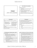 Bài giảng Quản trị học: Chương 6 - TS. Lê Hiếu Học