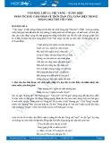 Phân tích sự cảm nhận về thời gian của Xuân Diệu trong đoạn 2 bài thơ Vội vàng