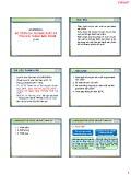 Bài giảng Chương 5: Kế toán chi phí sản xuất và tính giá thành sản phẩm