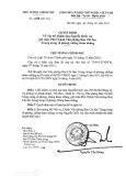 Quyết định số 1778/QĐ-TTg năm 2011