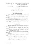 Quyết định số 1740/QĐ-TTg năm 2016