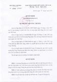 Quyết định số 2968/QĐ-BCT