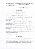 Quyết định số 2847/QĐ-BCT