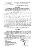 Quyết định số 1094/QĐ-BCT
