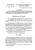 Quyết định số 12006/QD-BCT