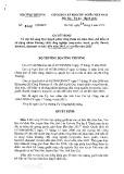 Quyết định số 6242/QD-BCT