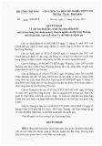 Quyết định số 280/QĐ-BCT