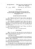 Quyết định số 2219/QĐ-BCT
