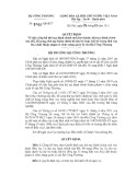 Quyết định số 5100/QĐ-BCT năm 2011