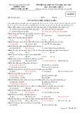 Đề kiểm tra HK 1 môn Hóa học lớp 12 năm 2017-2018 - THPTLương Ngọc Quyến - Mã đề 003