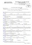 Đề kiểm tra HK 1 môn Hóa học lớp 12 năm 2017-2018 - THPTYênLạc2 - Mã đề 132