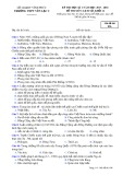 Đề kiểm tra HK 1 môn Lịch sử lớp 12 năm 2017-2018 - THPTYênLạc2 - Mã đề 896