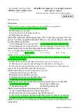 Đề kiểm tra HK 1 môn Vật lí lớp 10 năm 2016-2017 - THPT Lương Phú - Mã đề 103