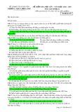 Đề kiểm tra HK 1 môn Lịchsử lớp 12 năm 2016-2017 - THPT Lương Phú - Mã đề 453