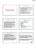 Bài giảng Luật chứng khoán: Chương 7 - Quản lý nhà nước về chứng khoán và thị trường chứng khoán