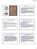 Bài giảng Luật chứng khoán: Chương 2 - Khái quát chung về luật chứng khoán